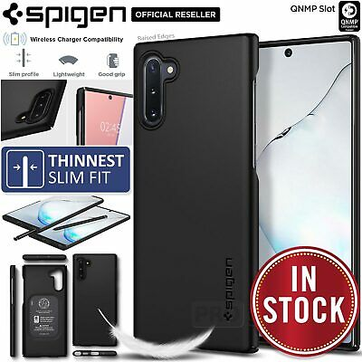 Galaxy Note 10/Plus 5G Case Genuine SPIGEN Ultra Slim Thin Fit Cover for Samsung