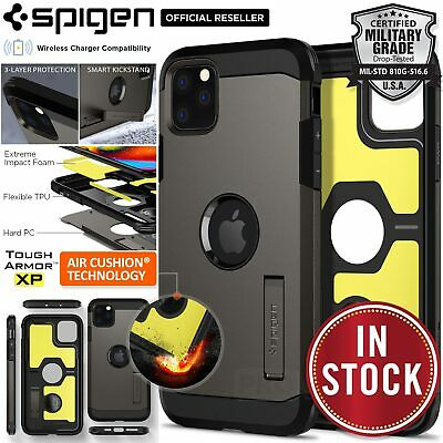 iPhone 11 Pro XS Max X XR Case SPIGEN Tough Armor Shockproof Heavy Duty Cover