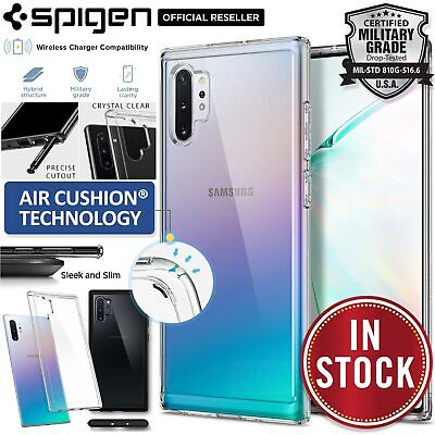 Galaxy Note 10/Plus 5G Case Genuine SPIGEN Ultra Hybrid Hard Clear Cover Samsung
