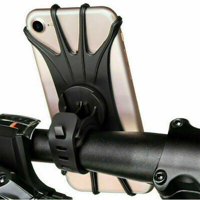 360° Universal Motorcycle Bike Bicycle Handlebar Mount Holder For mobile Phone