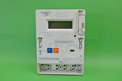 Landis+Gyr E470 Single Phase Smart Meter 100A Direct Connected