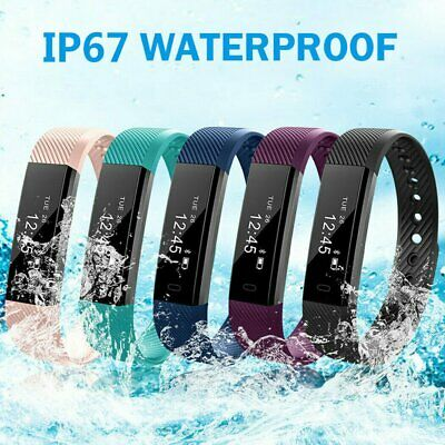 NEW Bluetooth Smart Bracelet Sport Watch Step Calorie Counter Tracker Pedometer