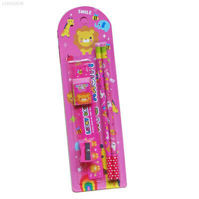 0205 Educational Supplies Erasers Cartoon Set Set Stationary Sets Pencil School