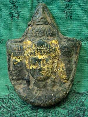 Brahma God Khmer Deity Talisman Wealth Luck Success Angkor Wat Thai Buddha Amuet