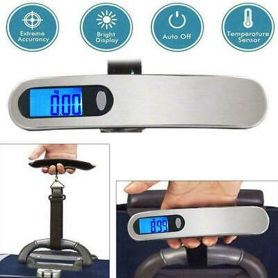 Portable Travel 110lb/50kg LCD Digital Hanging Luggage Electronic Scale Wei S1W4