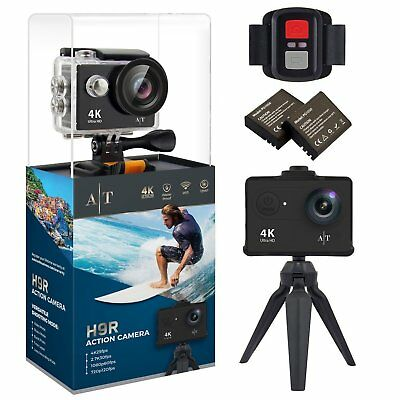 Action Camera 14-in-1 Accessories Bundle W// Case For NPC AEE Lyfe S72 4K