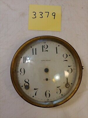 Seth Thomas Cathedral Arch Mantle Clock Dial & Bezel & Glass From 89Al Movement