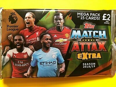 Topps Match Attax Extra 2018/19 - Complete 'Man of the Match' Team Sets - CHOOSE