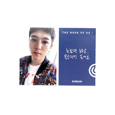 [DAY6]The Book of Us:Gravity/Time of our life/My Page (Soul) ver. / B-Sungjin