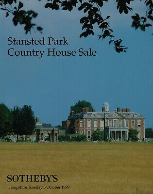 Stansted Park Rowlands Castle Hampshire Country House Sale Auction Catalogue