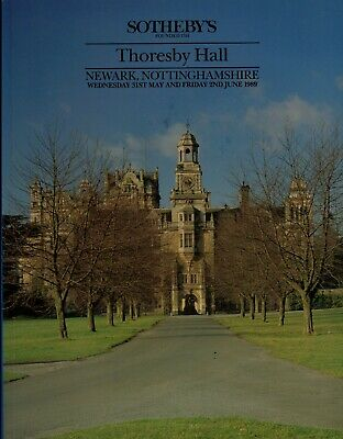 Thornby Hall, Northamptonshire  Country House Sale Auction Catalogue