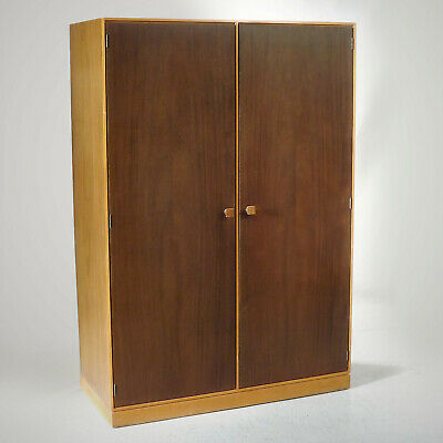 Stag Wardrobe (delivery available) John & Sylvia Reid Walnut Retro 60s