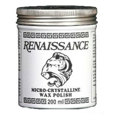 Renaissance® Wax Polish 200ml Micro Crystalline Car Instruments Clocks  - HP153