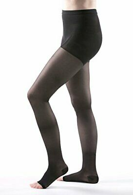 Allegro 20-30 mmHg Essential 32 Sheer Open Toe Compression Pantyhose