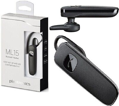 New Plantronics M15 Bluetooth Headset Hands Free For Apple And Other Smartphones 23 99 Picclick Uk