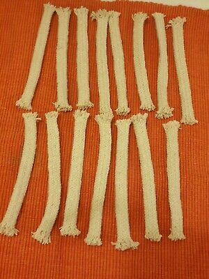 15 Replacement Wicks for Bamboo Torches Garden /lanterns