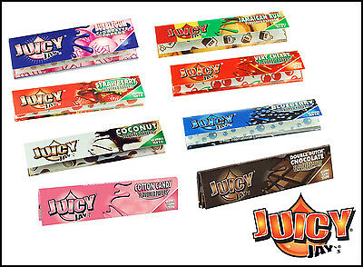 Juicy Jays Papers Slim King Size Flavoured Rolling Papers Fruity 32 Leaves Cig