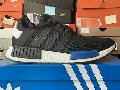 ADIDAS NMD R1 CLEAR BLUE 2016 MEN's Size 11.5 CORE BLACK