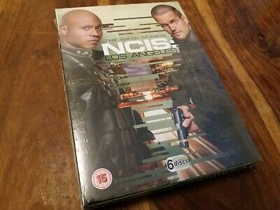 NCIS Los Angeles Complete Sixth Series Seasons Six 6 Disc UK R2 DVD New Sealed