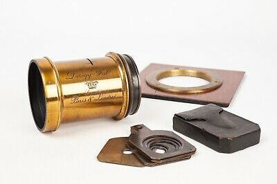 Derogy Fab. Nº 4 Paris & London Brass Lens + Waterhouse stop set