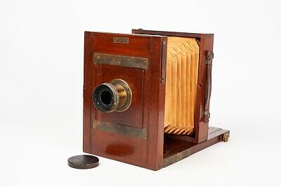 """ Barceló""  Wood 13x18cm plate camera - French desing style"