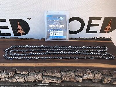 """18/"""" Chain Saw chain.325x.063x 74 links.Fits many Stihl Saws.3 pack Made in USA"""