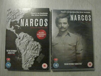 ( Narcos ) - The Complete First Series 1 - Season One - Dvd Set