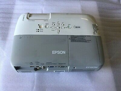 Epson EB-X6 LCD Projector Model : H284B. (USED)