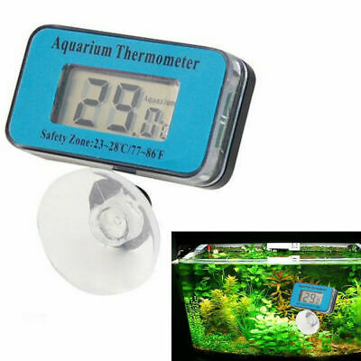 Digital LCD Waterproof Fish Aquarium Water Tank Temperature Thermometer TOP B4I8
