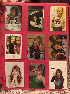TWICE Momo Official Album Photocards