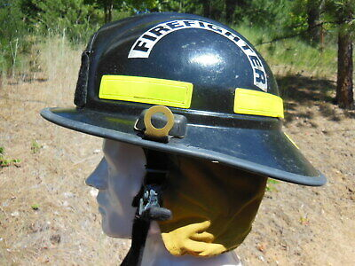 Morning Pride FIRE FIGHTER HELMET with Ear / Neck Protector