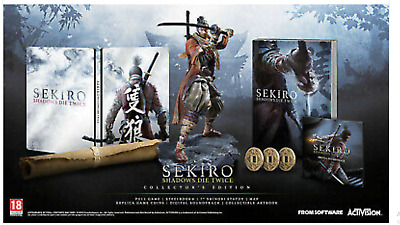 Sekiro Shadows Die Twice Collector's Edition - PS4 (Playstation 4)