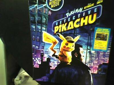 Pokemon: Detective Pikachu (Blu-ray Only) Opened-Unwatched