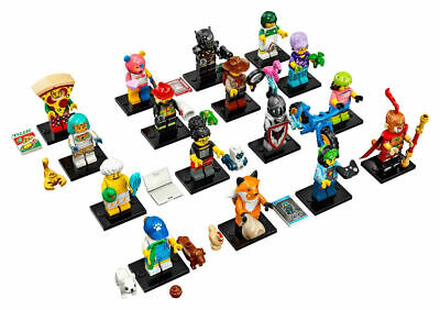 Lego Series 19 Complete Set of 16 Minifigures 71025 SHIP OUT ON 9/1/19