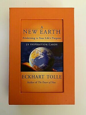A New Earth: Awakening to Your Life's Purpose by Eckhart Tolle Tarot Oracle Card