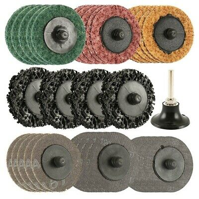 35PCS SANDING DISCS Set, 2 inch Quick Change Discs,Surface
