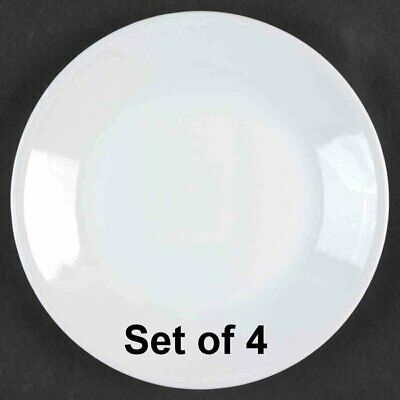 Set of 4 Corelle  Winter Frost White 10.25'' Dinner Plates