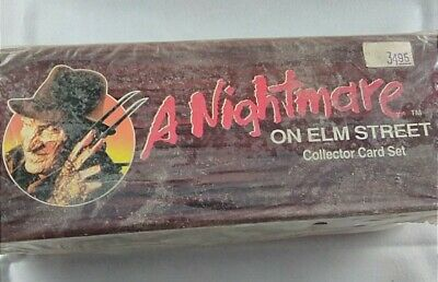 A Nightmare on Elm Street 1991 Collector Card Set Never Opened