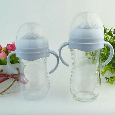 HX- Non-Slip Milk Bottle Grip Handle for Avent Wide Mouth Baby Feeding Accessory