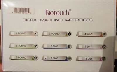 Biotouch Digital Semi Permanent Makeup Needle Cartridges x 15 (STYLE 6 FLAT)