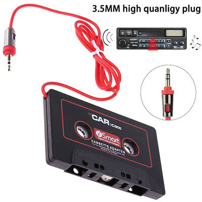MP3 Stereo Car Tape Cassette to AUX Audio Adapter Converter for iPhone iPod