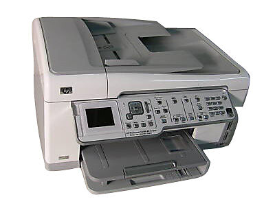 HP PHOTOSMART C6180 All-In-One Inkjet Printer For Parts Ink System