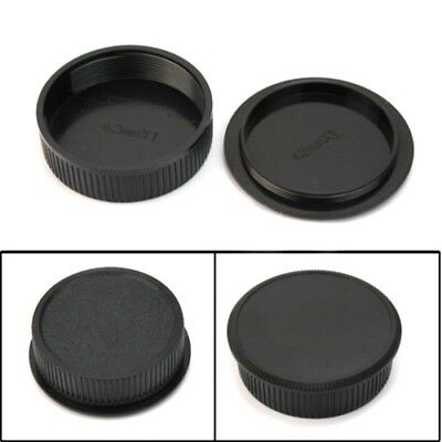 42mm Plastic Front Rear Cap Cover For M42 Digital-Camera Body And-Lens