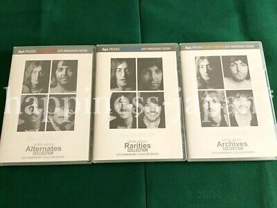 The Beatles White Album 50th Anniversary Collector's Edition 6 CD 6 DVD Set F/S