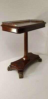 Good Quality Regency Style Mahogany Occasional Side Table