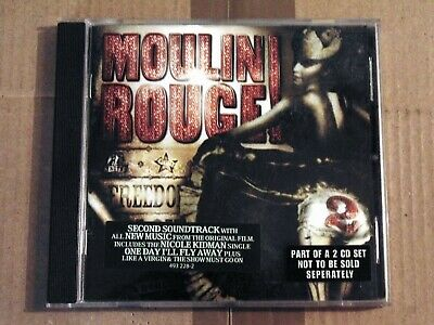 CD MUSIC FROM BAZ LUHRMANN'S FILM MOULIN ROUGE 2 Interscope 2002 Electronic, Sta