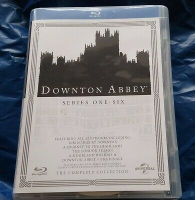 Downton Abbey - The Complete Collection - Series One (1) to Six (6) - UK Blu Ray