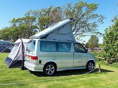 Campervan Hire South Coast - 4/6 berths, Awning and Bike Rack options (6 Seater)