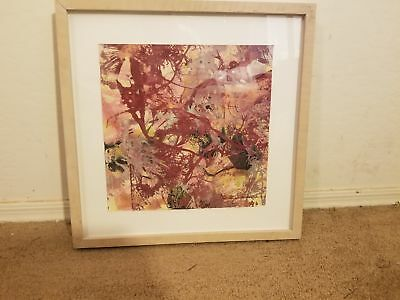 Jackie Kazarian Titled Horror Fusionis 3 Oil & Acrylic On Paper Framed 1994