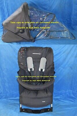 HAMAC ASSISE LOOLA PAD CANOPY ZIP PLUIE Gris confett LOOLA UP HIGH TREK